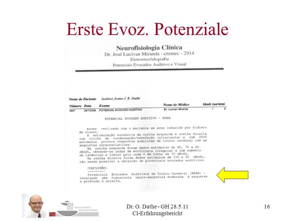 Dr. O. Dathe - GH 28.5.11 CI-Erfahrungsbericht