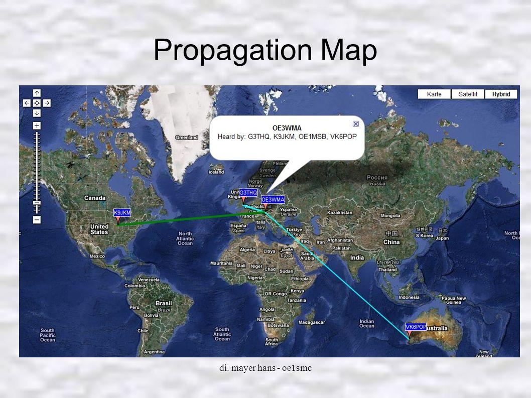 Propagation Map di. mayer hans - oe1smc