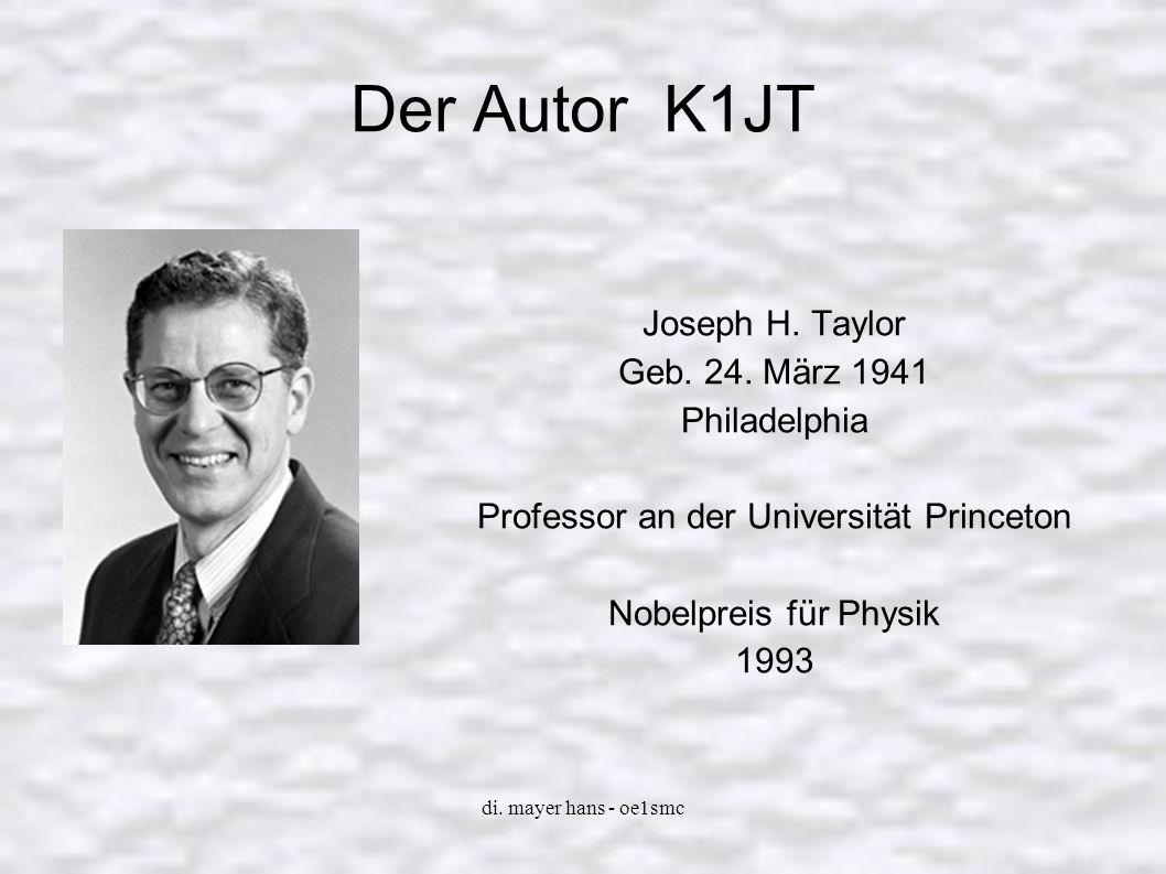 Professor an der Universität Princeton