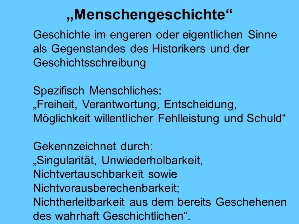 """""""Menschengeschichte"""