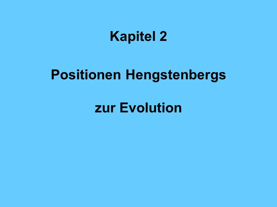 Positionen Hengstenbergs