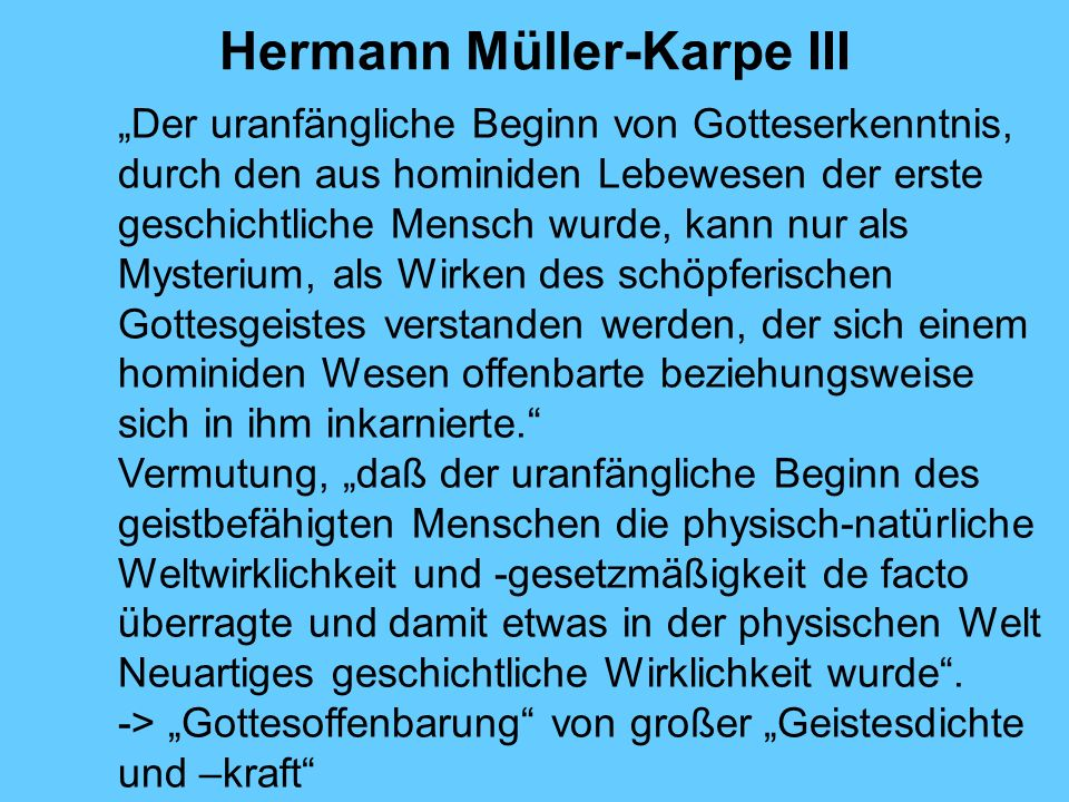 Hermann Müller-Karpe III