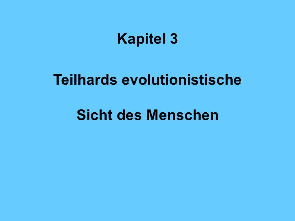 Teilhards evolutionistische