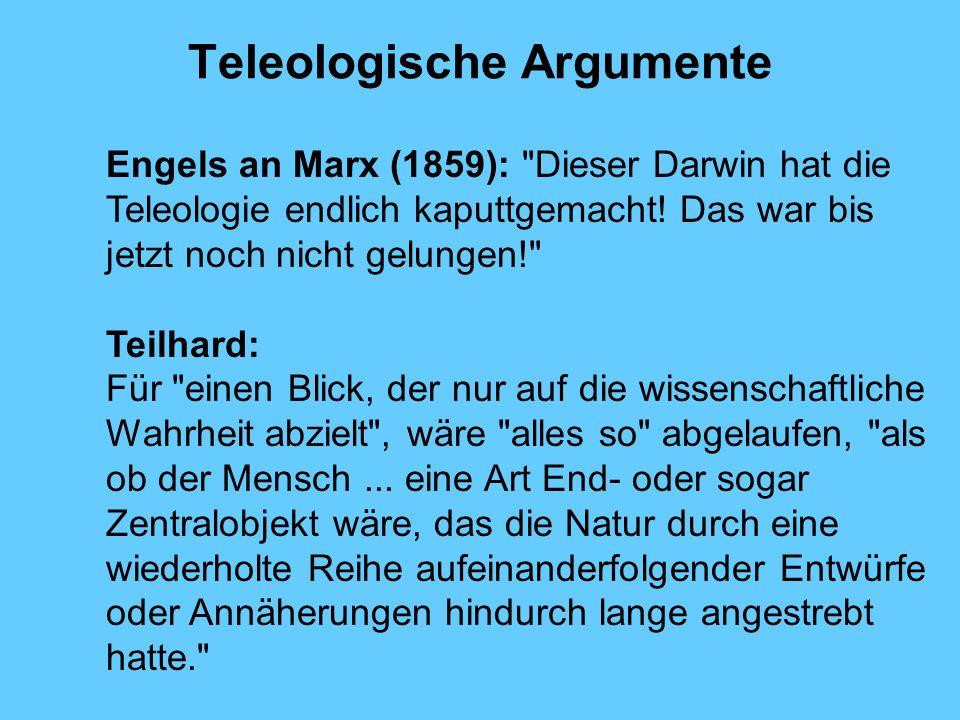 Teleologische Argumente