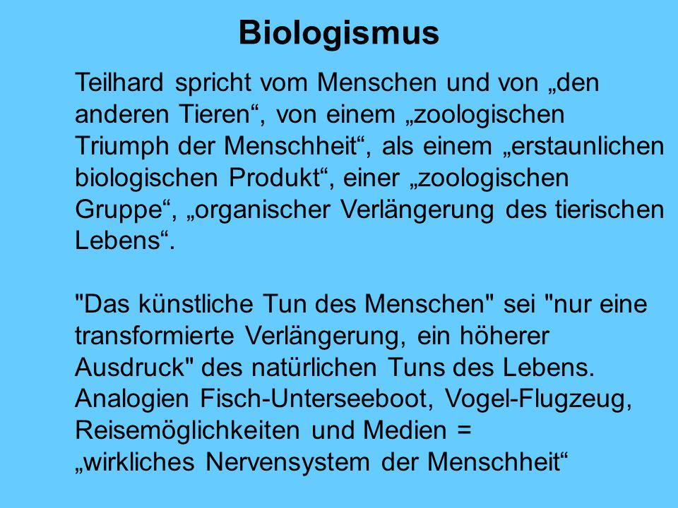 Biologismus