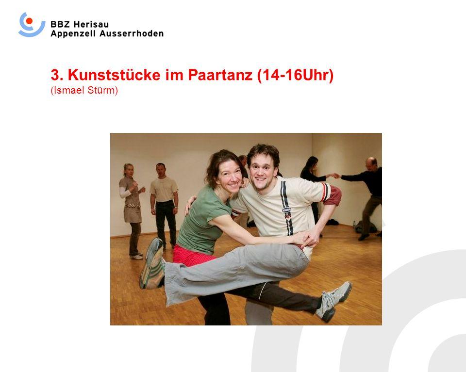 3. Kunststücke im Paartanz (14-16Uhr) (Ismael Stürm)