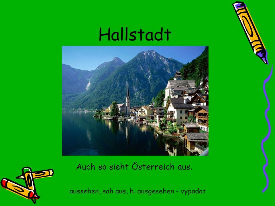 Hallstadt Auch so sieht Österreich aus.