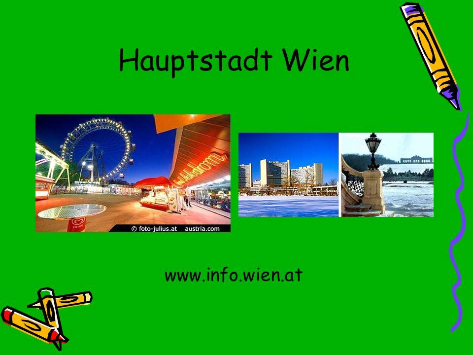 Hauptstadt Wien www.info.wien.at