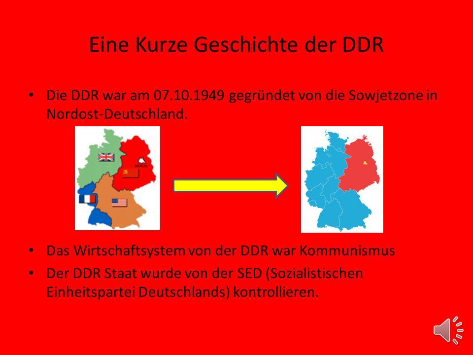 Eine Kurze Geschichte der DDR