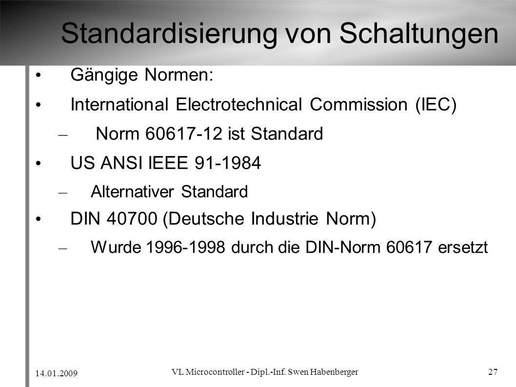 Standardisierung von Schaltungen