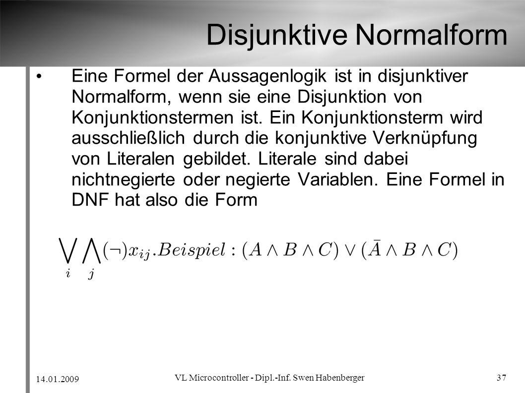 Disjunktive Normalform