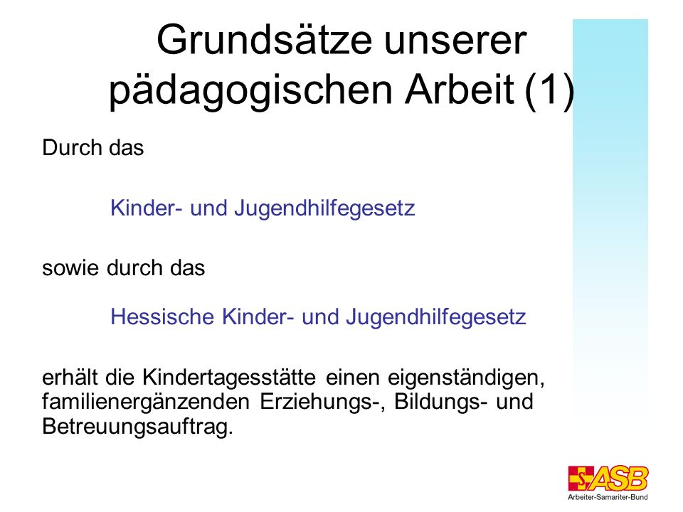 Grundsätze unserer pädagogischen Arbeit (1)