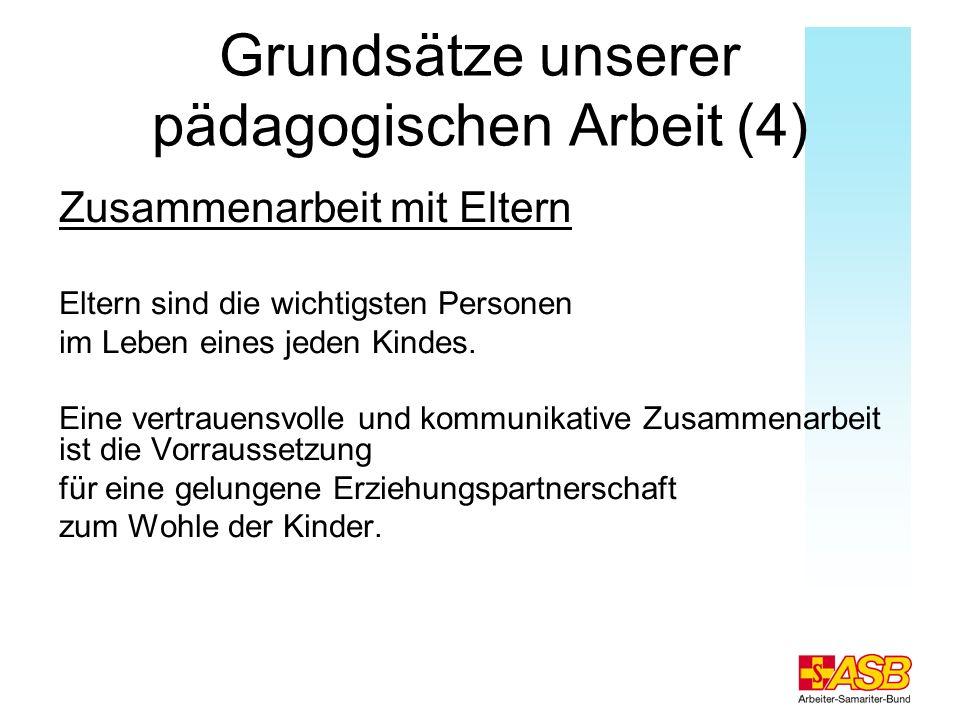 Grundsätze unserer pädagogischen Arbeit (4)