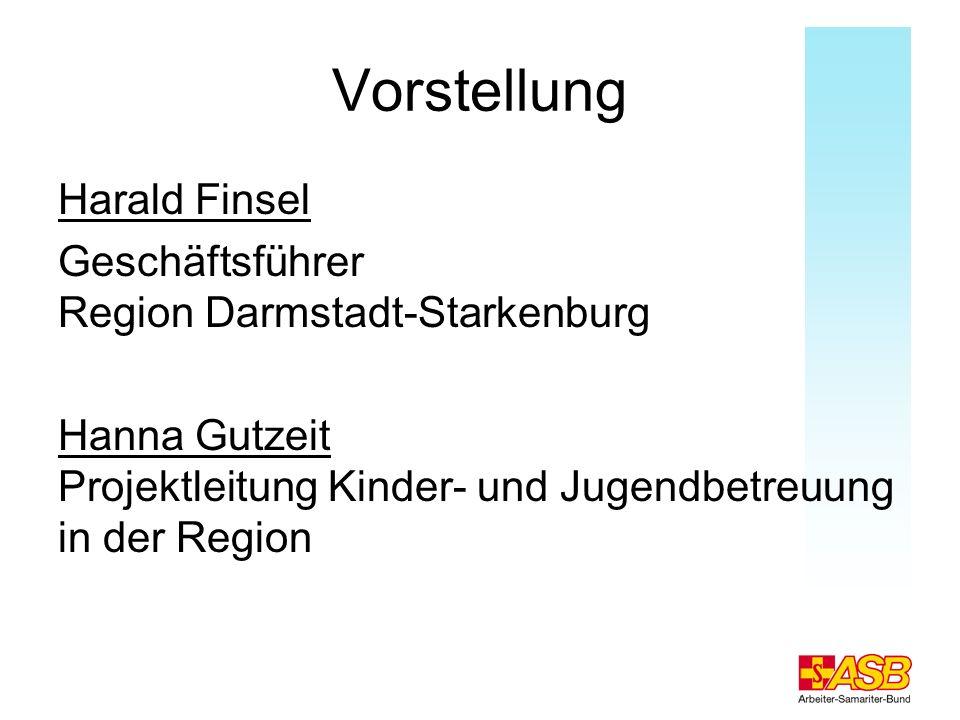 Vorstellung Harald Finsel Geschäftsführer Region Darmstadt-Starkenburg