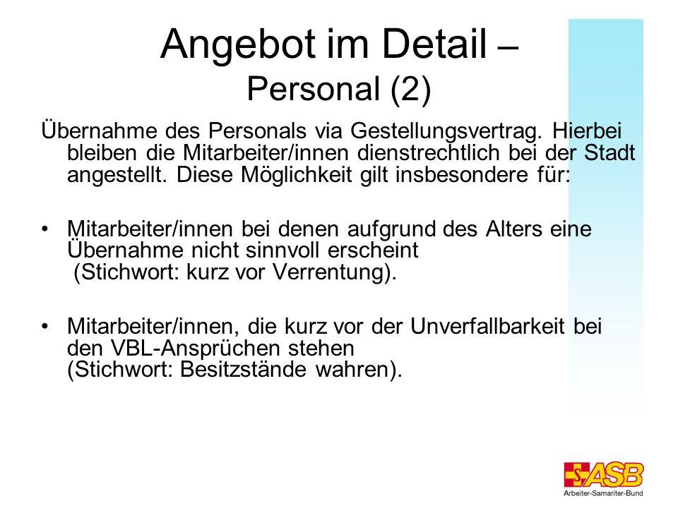Angebot im Detail – Personal (2)
