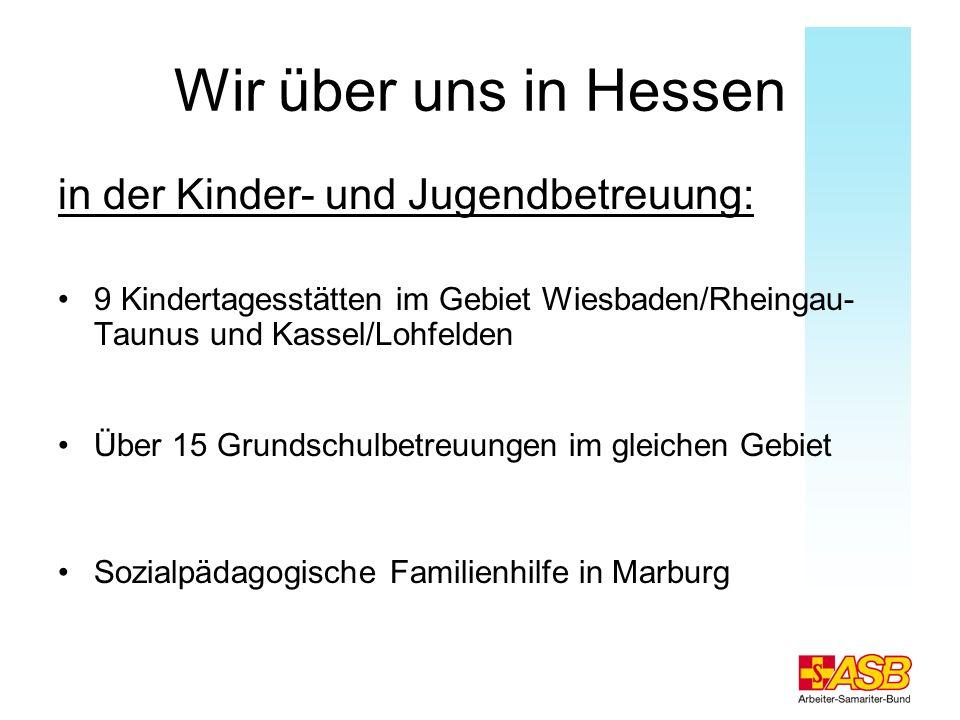 Wir über uns in Hessen in der Kinder- und Jugendbetreuung: