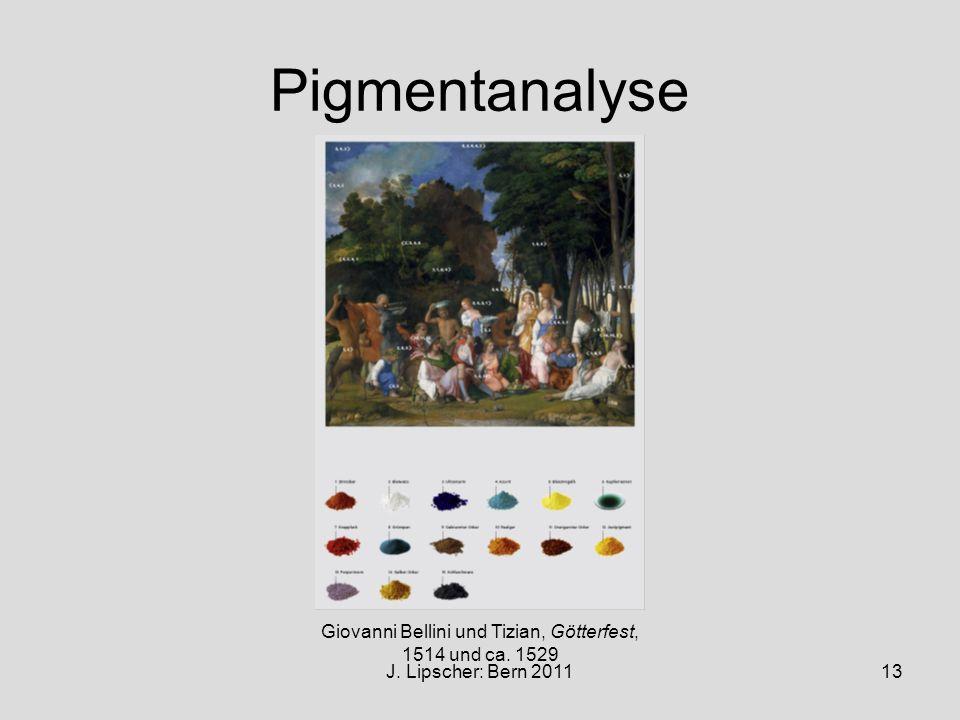 Giovanni Bellini und Tizian, Götterfest,