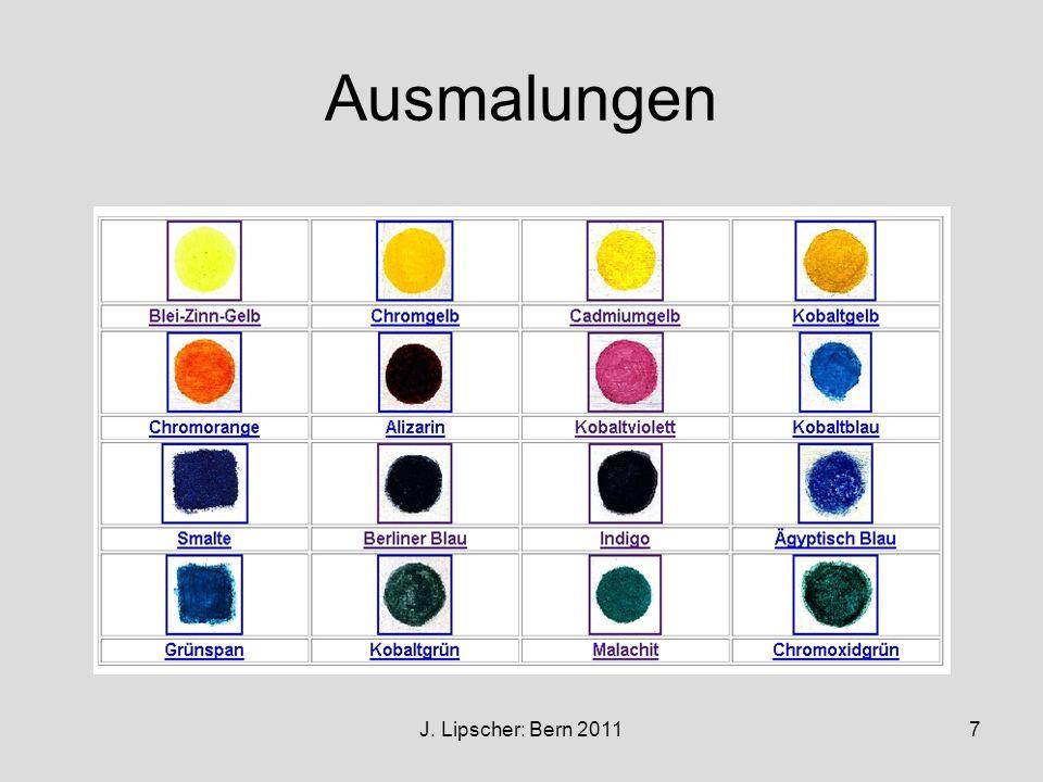 Ausmalungen J. Lipscher: Bern 2011