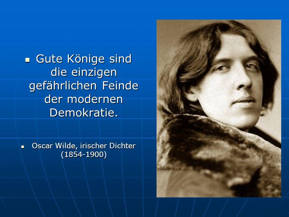 Oscar Wilde, irischer Dichter (1854-1900)