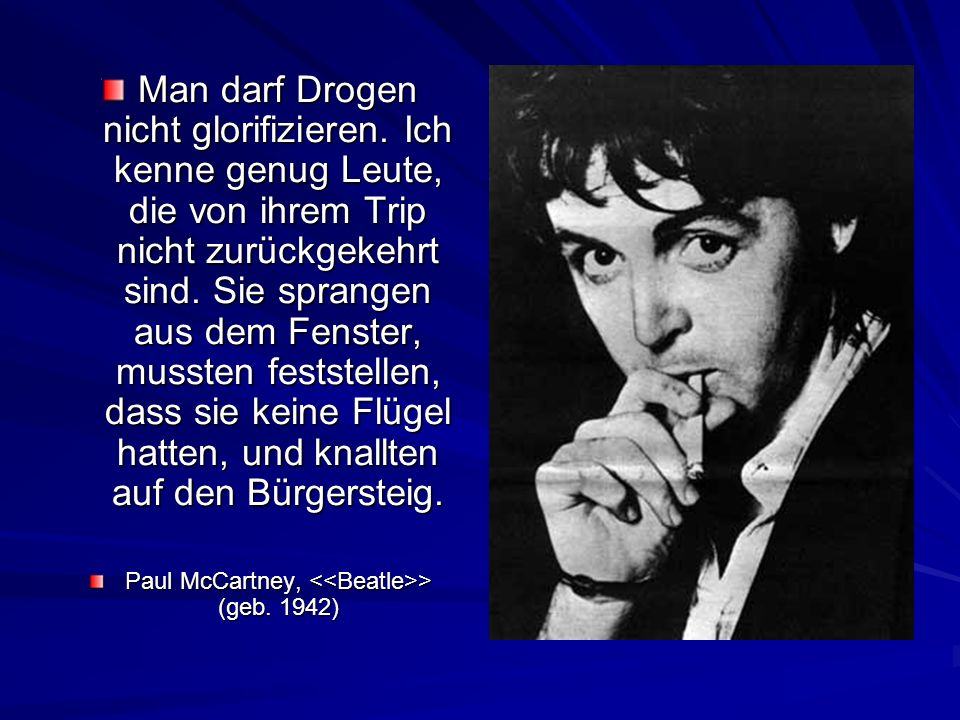 Paul McCartney, <<Beatle>> (geb. 1942)