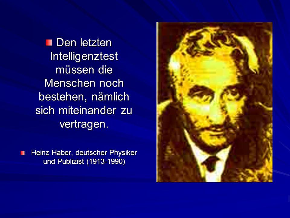 Heinz Haber, deutscher Physiker und Publizist (1913-1990)