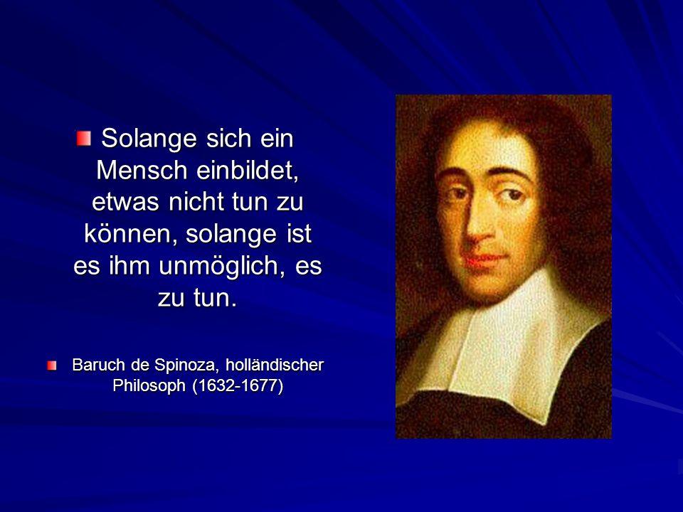 Baruch de Spinoza, holländischer Philosoph (1632-1677)