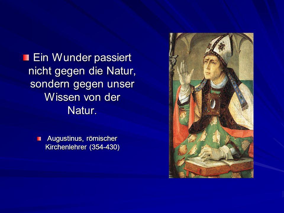 Augustinus, römischer Kirchenlehrer (354-430)