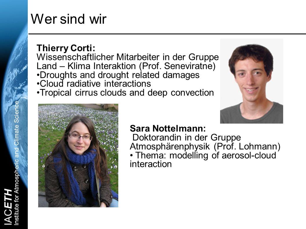 Wer sind wir Thierry Corti: