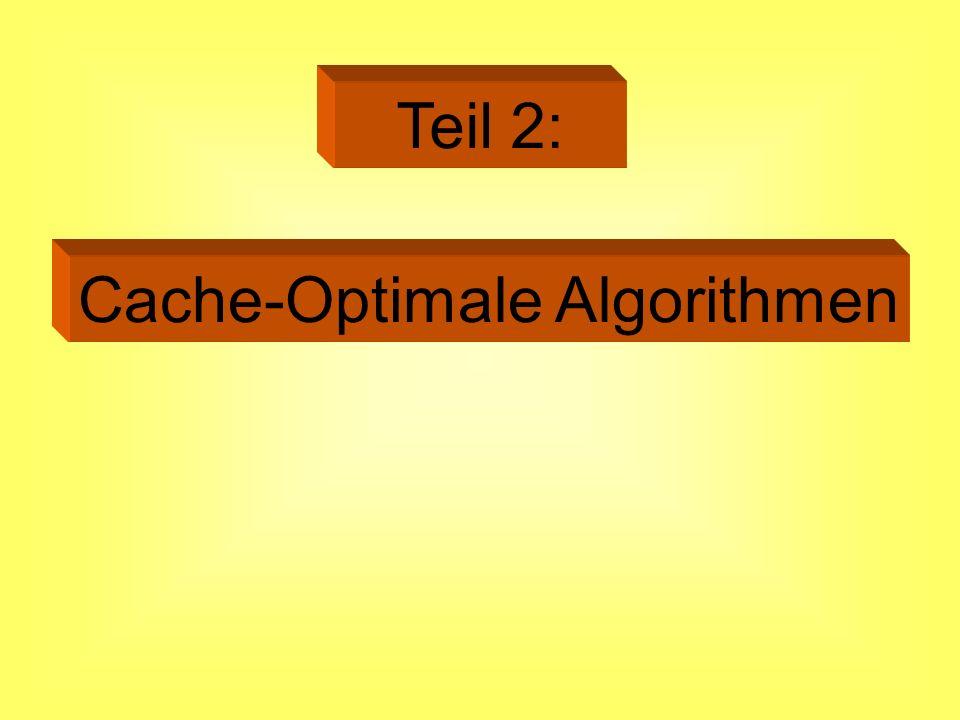 Cache-Optimale Algorithmen