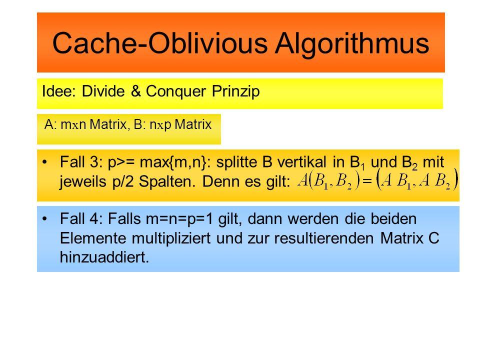 Cache-Oblivious Algorithmus