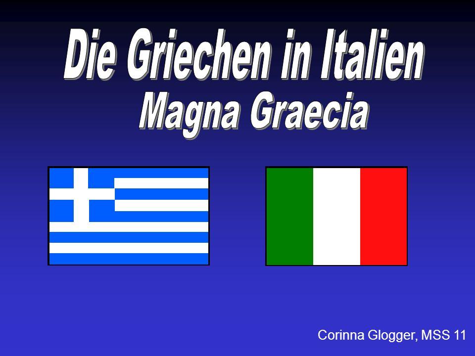 Die Griechen in Italien