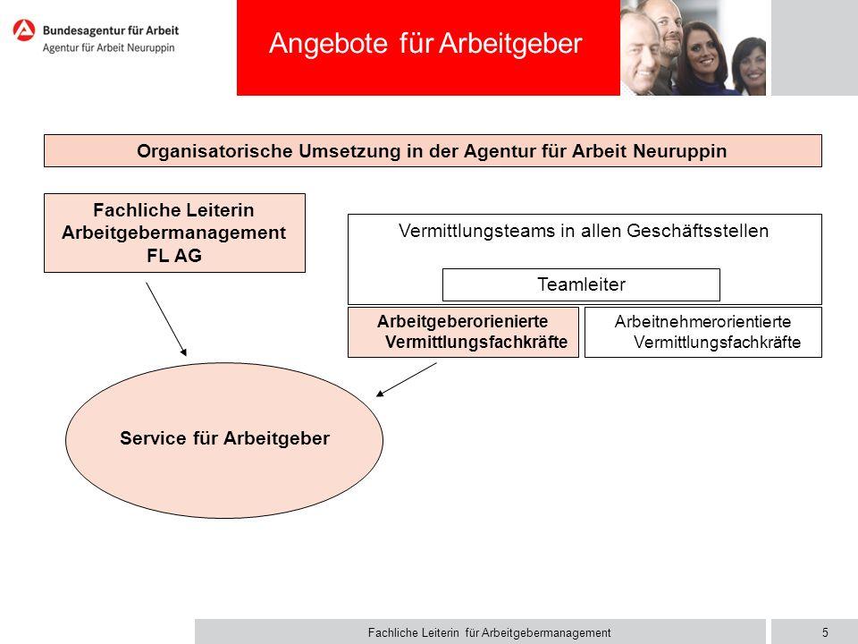 Aufgaben im Service für Arbeitgeber ( SfAG)