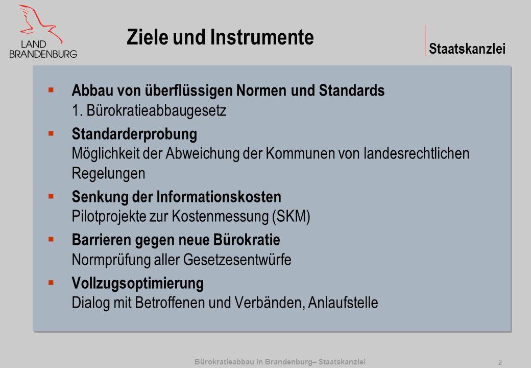 1. Bürokratieabbaugesetz