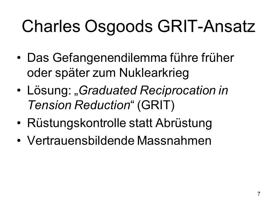 Charles Osgoods GRIT-Ansatz