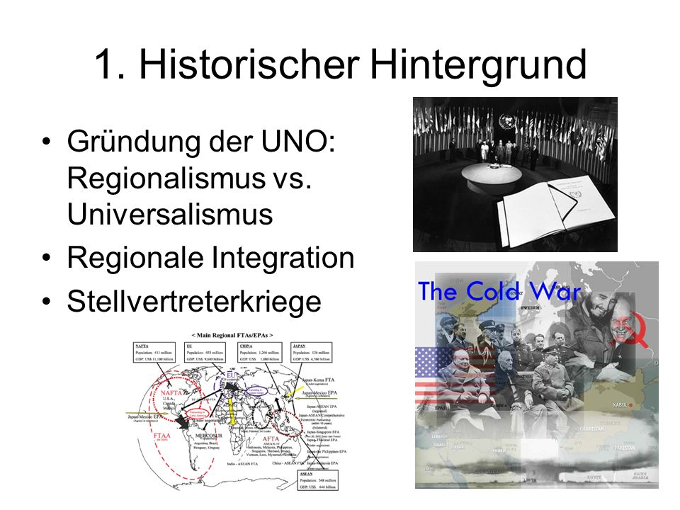 1. Historischer Hintergrund