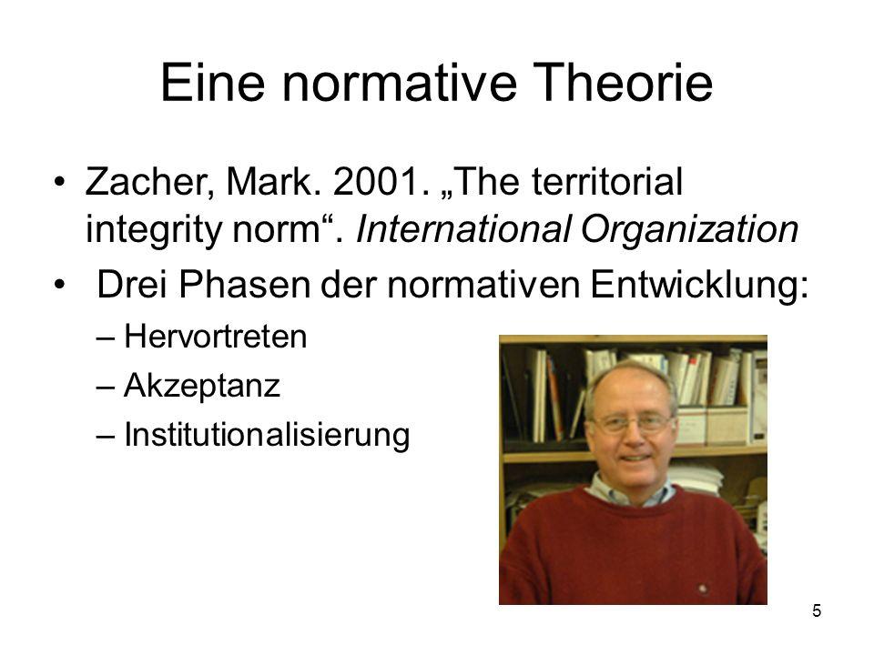Eine normative Theorie