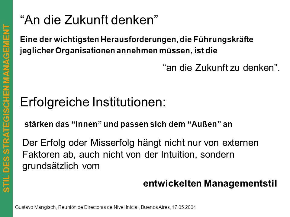 STIL DES STRATEGISCHEN MANAGEMENT