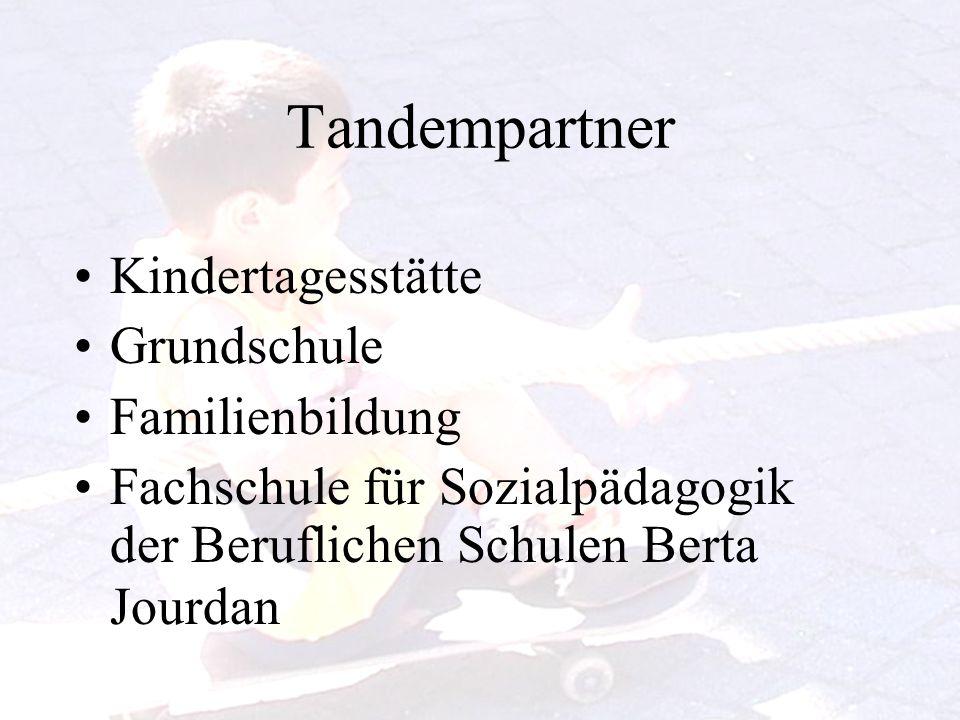 Tandempartner Kindertagesstätte Grundschule Familienbildung