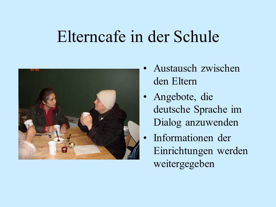 Elterncafe in der Schule