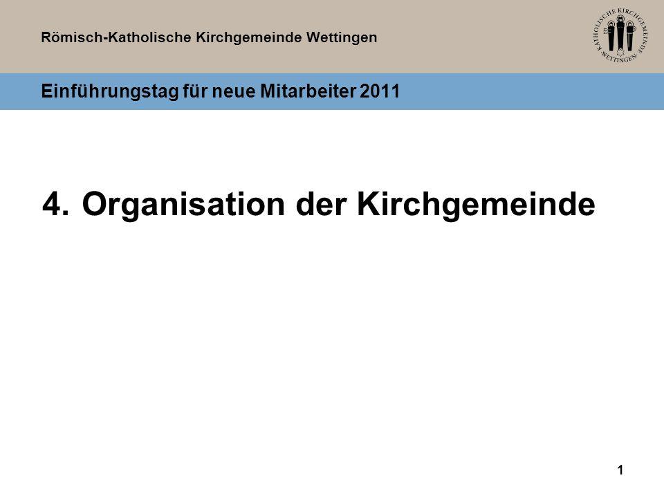 Einführungstag für neue Mitarbeiter 2011