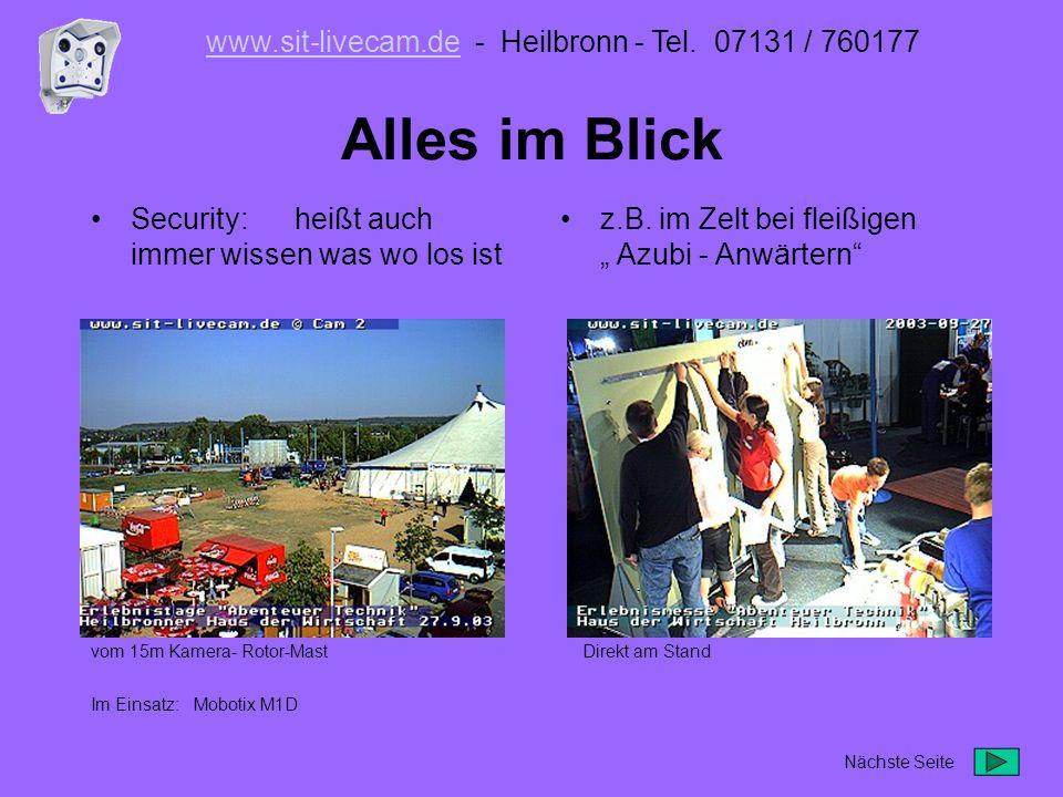 www.sit-livecam.de - Heilbronn - Tel. 07131 / 760177
