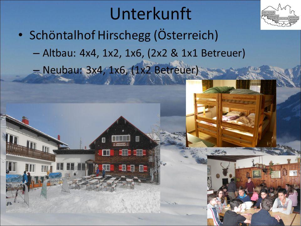 Unterkunft Schöntalhof Hirschegg (Österreich)