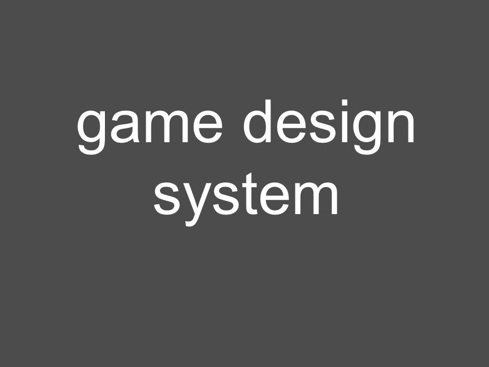 game design system