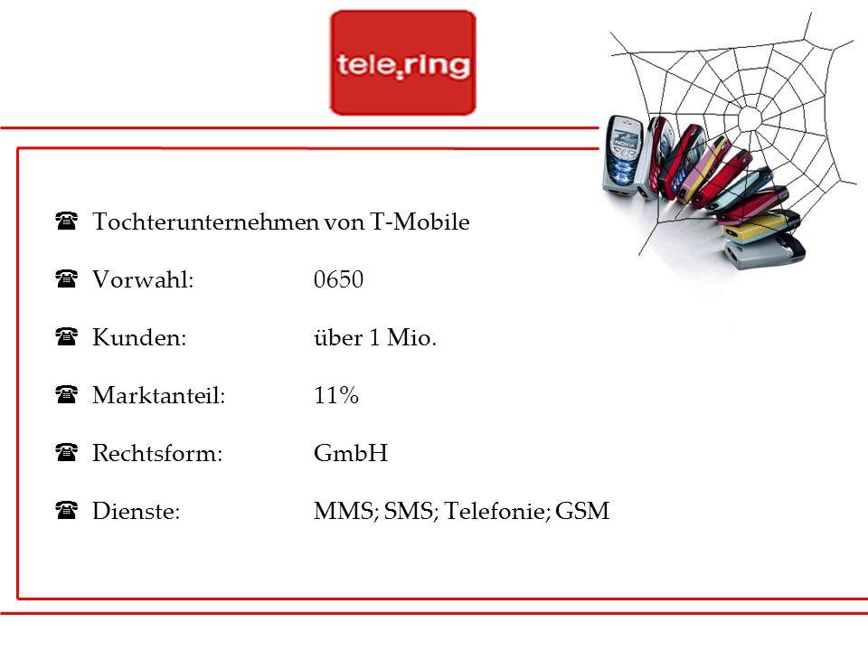 Tochterunternehmen von T-Mobile