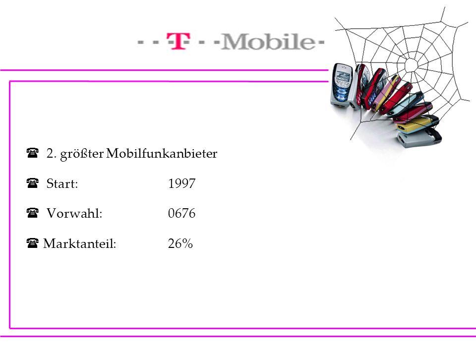 2. größter Mobilfunkanbieter