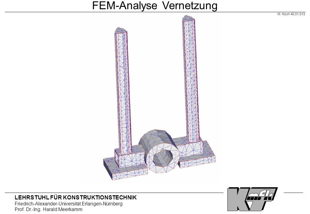 FEM-Analyse Vernetzung