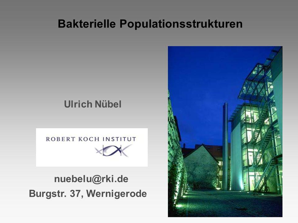 Bakterielle Populationsstrukturen