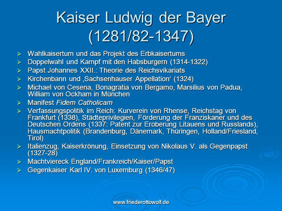 Kaiser Ludwig der Bayer (1281/82-1347)