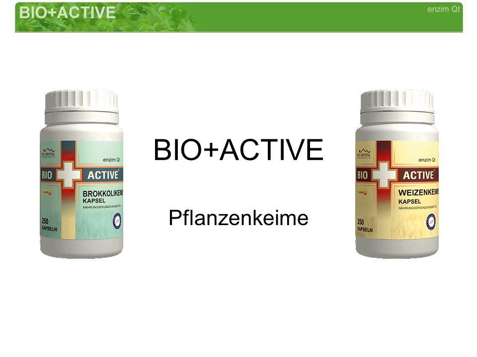 BIO+ACTIVE Pflanzenkeime
