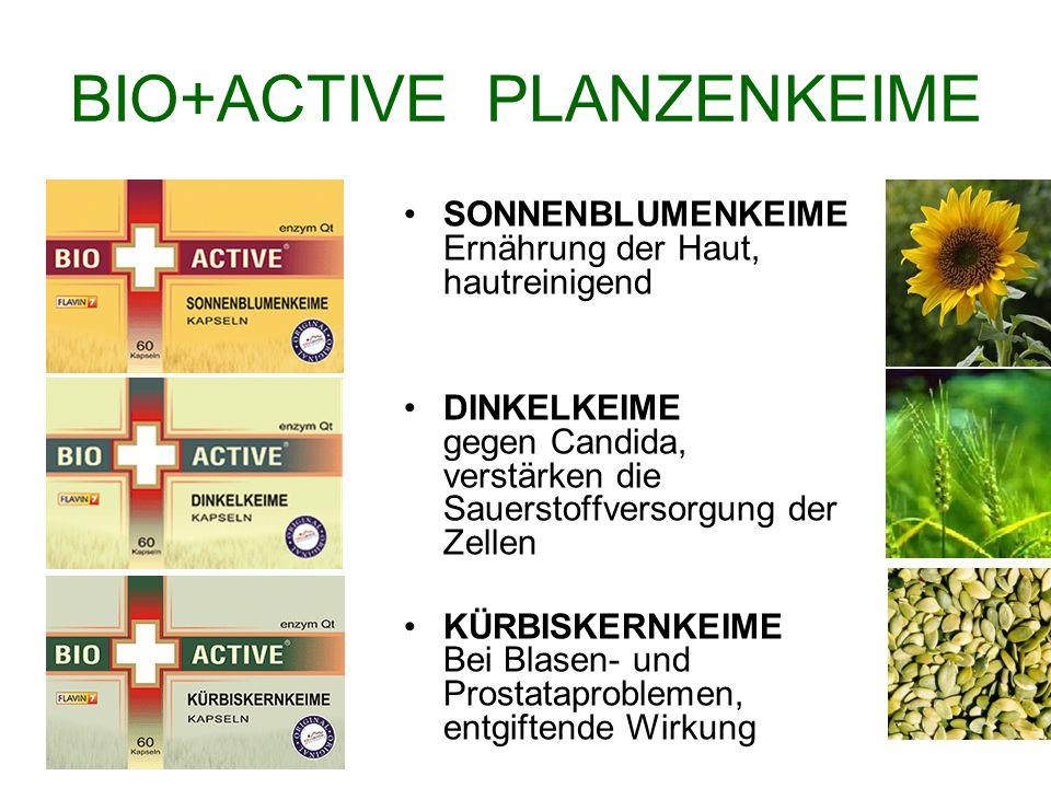 BIO+ACTIVE PLANZENKEIME